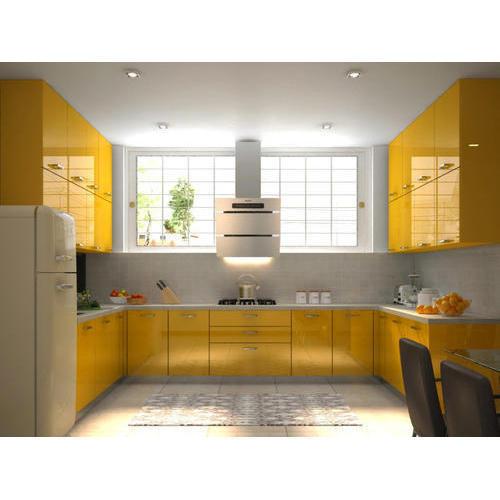 U Shape Kitchen Interior Design In Greater Noida Noida Delhi Ghaziabad Gurugram Faridabad Chennai Mumbai Jaipur Bikaner Maharashtra Indore Banglore