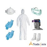 Face Mask And Medical PPE Kits